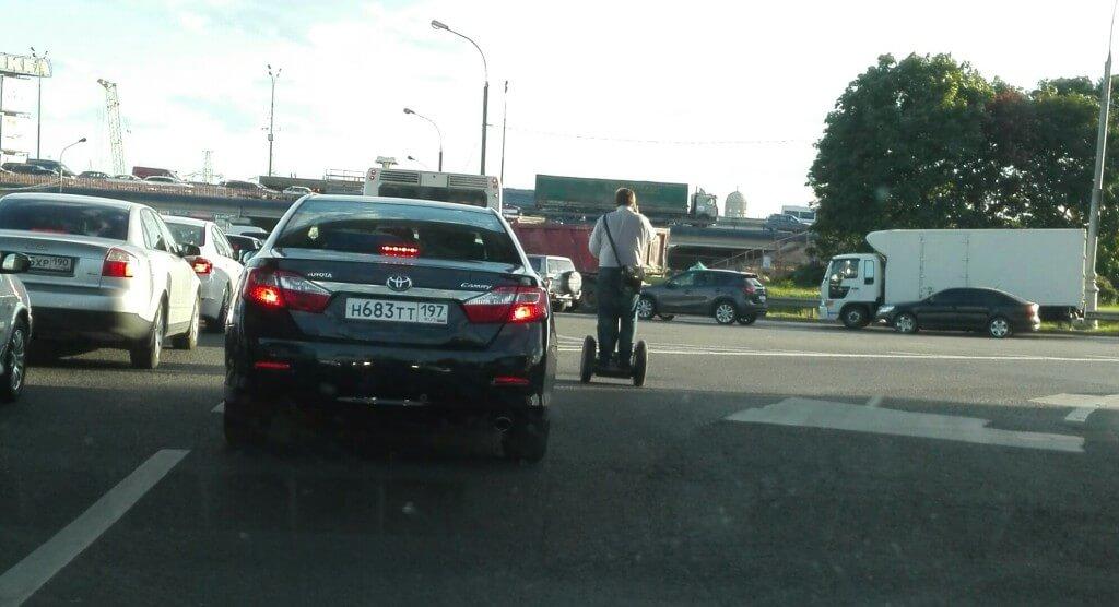 Сигвей на калужском шоссе