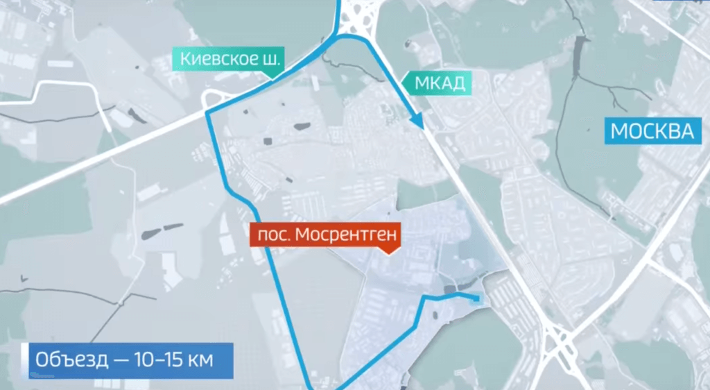Платный въезд в мосрентген